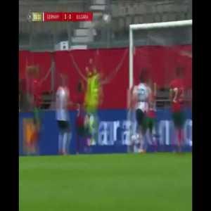 Germany W [3] - Bulgaria W - Lina Magull 33'