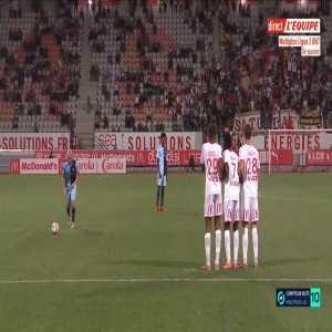 Nancy 1-[1] Le Havre - Quentin Cornette free-kick 56'