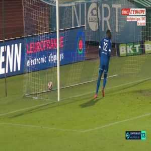Niort 2-0 Guingamp - Bilal Boutobba 64'