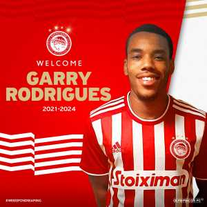 [Official] Olympiacos have signed Garry Rodrigues on a free transfer. (3 year contract)