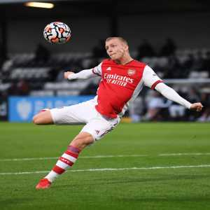 [Arsenal Academy] Full-time: Chelsea Under-23s 1-6 Arsenal Under-23s. Reduced to 10 men after 35 minutes