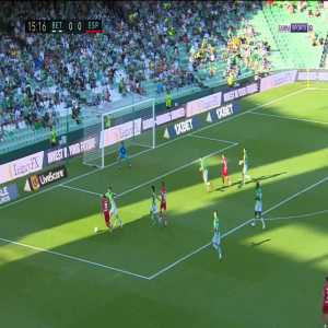 Betis 0-1 Espanyol - Aleix Vidal 16'