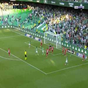 Betis [2]-1 Espanyol - Nabil Fekir 45'+4'