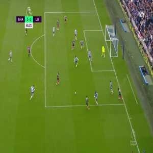 Brighton 2-[1] Leicester City: Vardy 62'