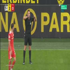 Dortmund 3 - [1] Union Berlin - Max Kruse penalty 57'