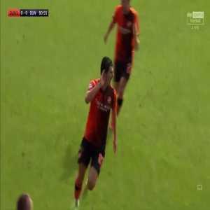 Dundee United 1-0 Dundee - Ian Harkes 81'