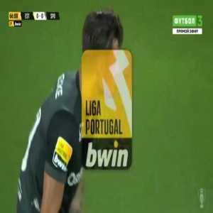 Estoril 0-1 Sporting - Pedro Porro penalty 67'