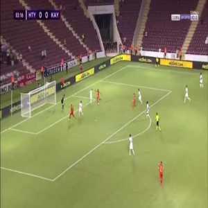 Hatayspor 0-1 Kayserispor - Bernard Mensah 4'