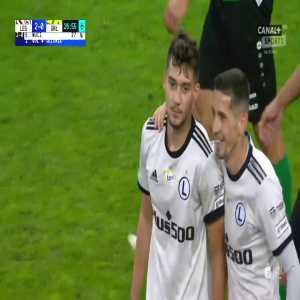 Legia Warszawa 2-0 Górnik Łęczna - Ernest Muçi 27' (Polish Ekstraklasa)