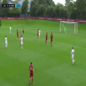 Liverpool U23 0 - 4 Leeds U23 - Joe Gelhardt (great goal)