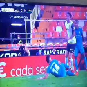 Possible red card - Casemiro (Valencia vs. Real Madrid)