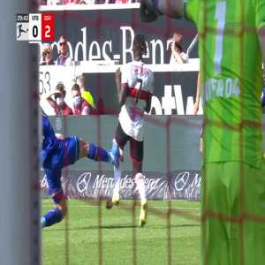 Stuttgart - Bayer Leverkusen - Robert Andrich red card (VAR)