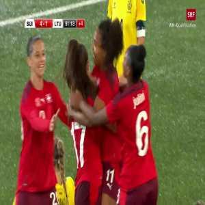 Switzerland W [4] - 1 Lithuania W - Svenja Fölmli 90+2' (nice goal)