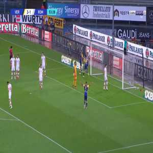 Verona [2]-1 Roma - Gianluca Caprari 55'