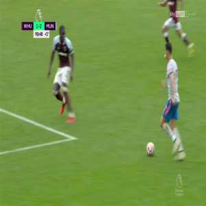 West Ham v Man Utd - Cristiano Ronaldo penalty NOT given 92'