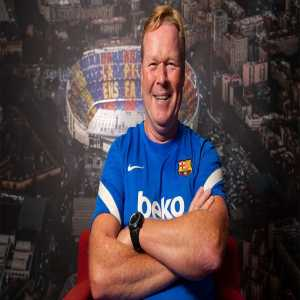 """[Albert Rogé] Ronald Koeman: """"What are we supposed to do? Play 'tiki taki' when there's no space? We've tried to win another way"""""""