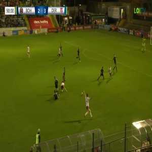 [GREAT GOAL] Bohemian FC [3] - 3 Derry City. Georgie Kelly. 96'