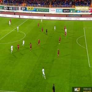 Kazan 0-1 Zenit - Artem Dzyuba 24'