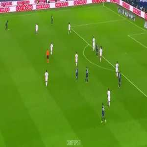 Nuno Mendes vs Lyon. Good debut as a starter from the young Portuguese left-back