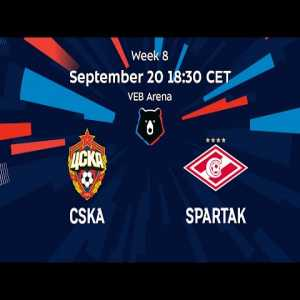 Russian Premier Liga's YouTube channel has a free stream for the CSKA Moscow - Spartak Moscow derby that's about to kick off