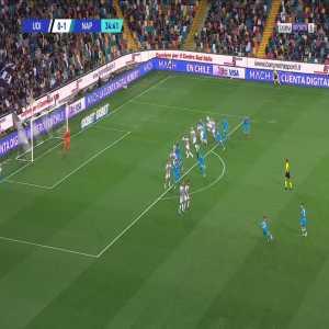 Udinese 0-2 Napoli - Amir Rrahmani 35'