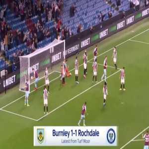 Burnley [1]-1 Rochdale - Jay Rodriguez 50'