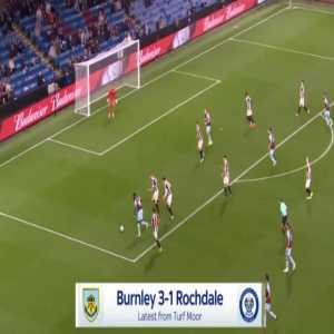 Burnley [2]-1 Rochdale - Jay Rodriguez 60'