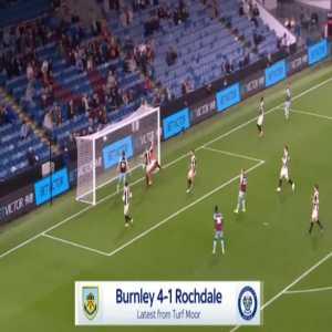 Burnley [4]-1 Rochdale - Jay Rodriguez 76'