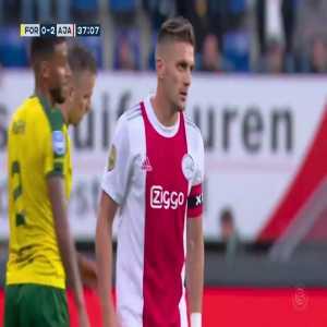 Fortuna Sittard 0-3 Ajax - Tadic 38'