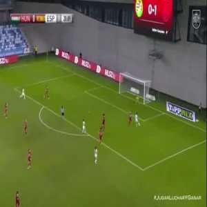 Hungary W 0 - [2] Spain W- Esther 21'