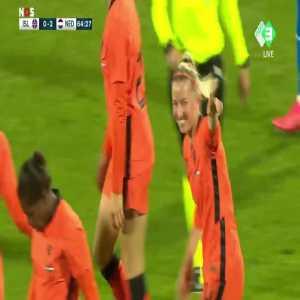 Iceland W 0 - [2] Netherlands W - Jackie Groenen great goal 65'