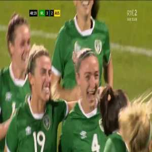 Ireland W [3] - 2 Australia W - Louise Quinn 49'