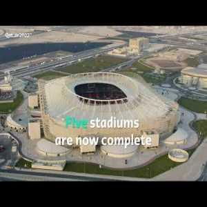 Lusail Stadium turf laying   Qatar 2022