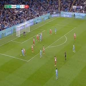 Manchester City [2]-1 Wycombe - Riyad Mahrez 43'