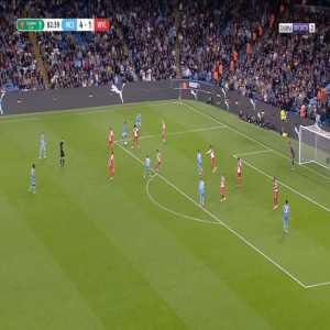 Manchester City [5]-1 Wycombe - Riyad Mahrez 84'