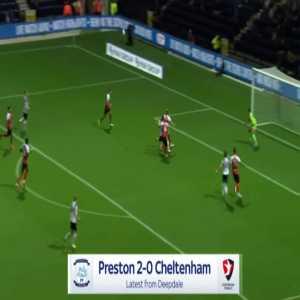 Preston 2-0 Cheltenham - Joe Rafferty 37'