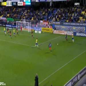 Waalwijk [1]-2 Willem II - Melle Meulensteen 90'+4'