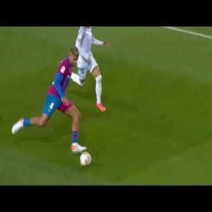 Araujo run against Granada