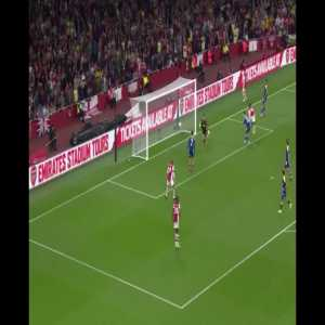 Arsenal [3] - Wimbledon 0 - Eddie Nketiah 80' - great back-heel goal