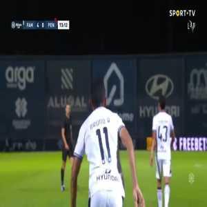 Famalicao 4-0 Penafiel - Bruno Rodrigues 73'