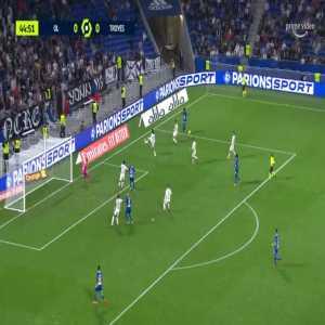 Lyon 0-1 Troyes - Xavier Chavalerin 45'