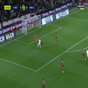 Metz 0-1 PSG - Achraf Hakimi 5'