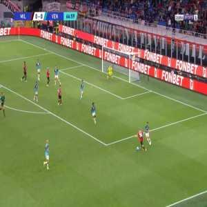 Milan 1-0 Venezia - Brahim Diaz 68'