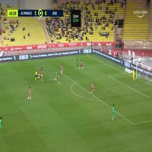 Monaco 1-[1] Saint-Étienne - Denis Bouanga 41'