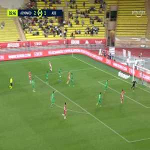 Monaco [3]-1 Saint-Étienne - Wissam Ben Yedder 87'