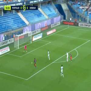 Montpellier 1-0 Bordeaux - Valere Germain 11'