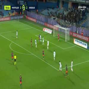 Montpellier [3]-2 Bordeaux - Florent Mollet 72'