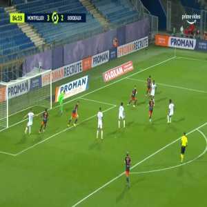 Montpellier 3-[3] Bordeaux - Samuel Kalu 85'