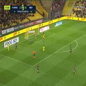 Nantes 3-0 Brest - Lilian Brassier OG 58'
