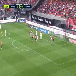 Rennes 1-0 Clermont - Jonas Martin 32'